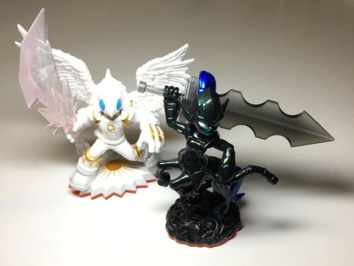 Knight Mare And Knight Light Skylanders Trap Team Good Condition - $17.55