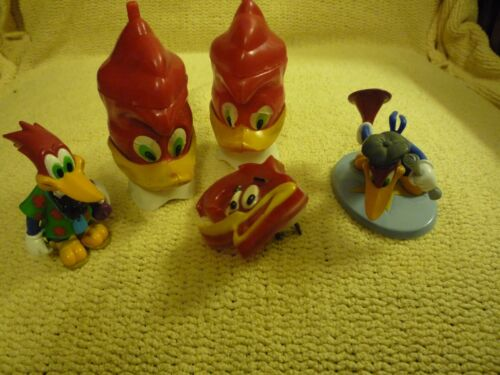 Woody Woodpecker Collectible Items, Set of 5