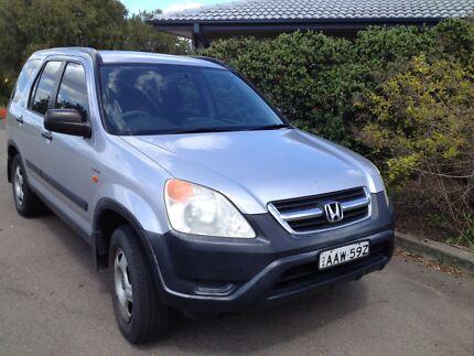 2002 Honda CRV Wagon Newcastle West Newcastle Area Preview