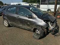 2010 Toyota Yaris 1.33 ( 99bhp ) MMT 2009MY TR AUTOMATIC CAT B SPARES EXPORT