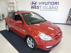 2010 Hyundai Accent GL Sport 1.6L MAGS/TOIT OUVRANT 39$/semaine