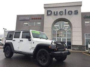 2013 Jeep WRANGLER UNLIMITED Sport*HARD TOP*MARCHE-PIEDS*MAGS*