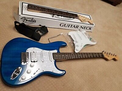 Fender Stratocaster - upgraded Squire Affinity with extras