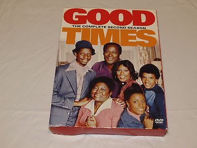 Good Times - The Complete Second 2nd Season DVD 2004 3-Disc Set series DVDS box