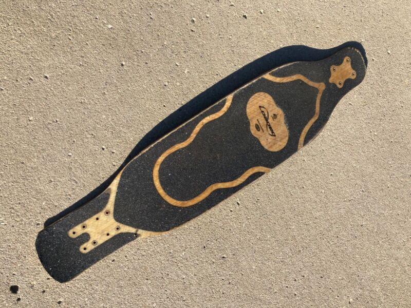 Used loaded fattail longboard deck