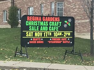 Regina Gardens Christmas Craft Sale