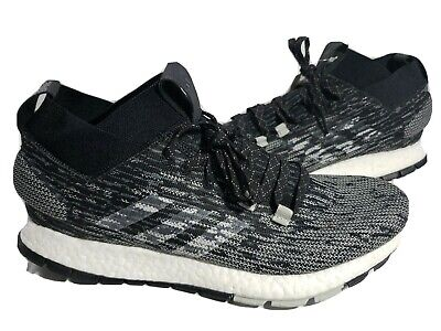 Adidas Pure Boost RBL LTD Running Shoes Black Grey  Mens Size 9.5 CM8314