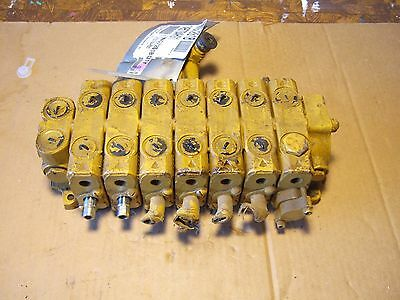 New Six spool hydraulic control valve closed center Made in USA Husco GD750A