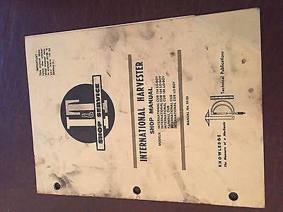 It International Harvester Shop Tractor Service Manual Cub 154 184 185