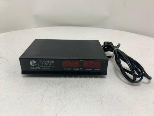 Blonder Tongue HAVM-2UA TV Headend System CONSUMER Agile Modulators