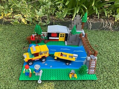 Vintage Lego System 6552 Rocky River Retreat Set