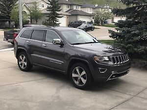 2014 Jeep Grand Cherokee Overland fully loaded