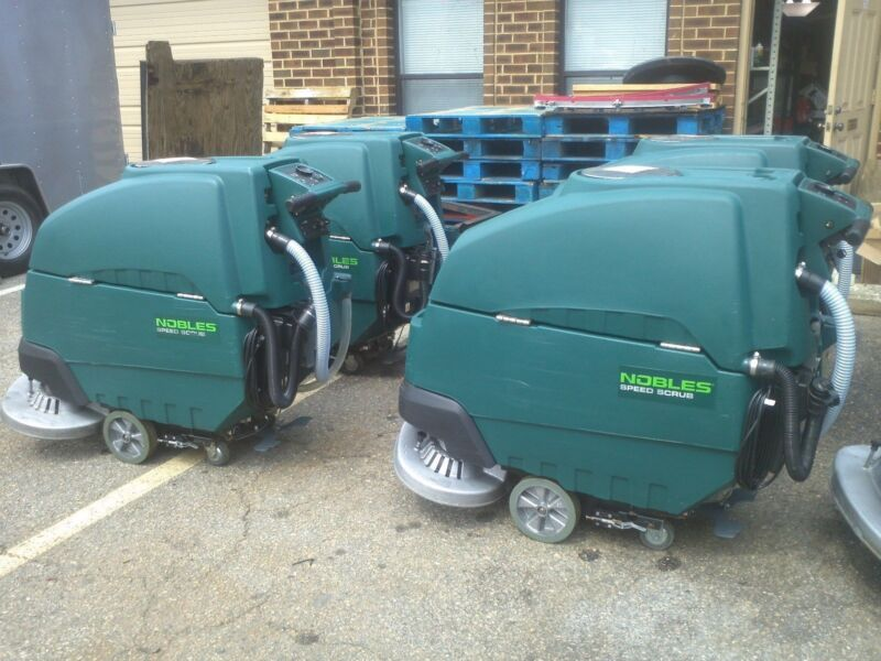 "RECONDITIONED Nobles Speed Scrub SS5, under 300 Hours, 32"" Floor Scrubber"
