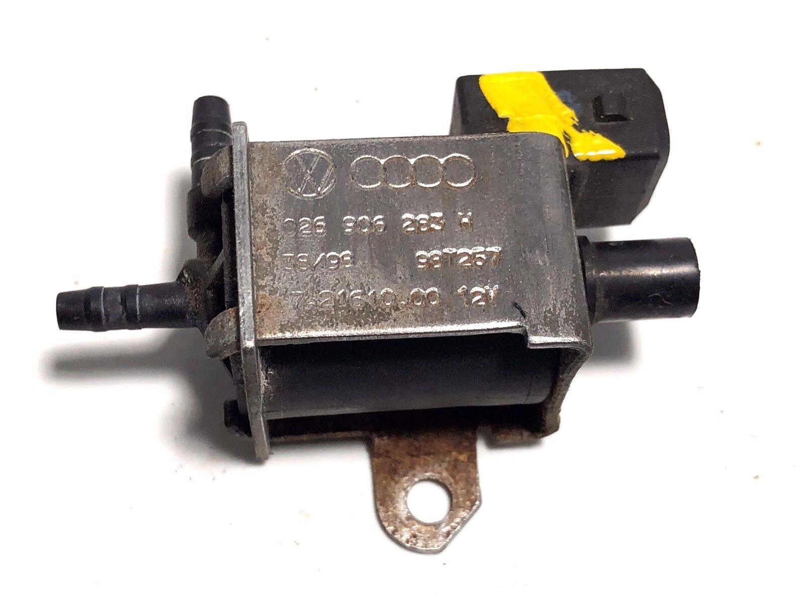 1998 - 2005 VolksWagen Passat Vacuum Switch Valve P: 026 906 283 A OEM Warranty!