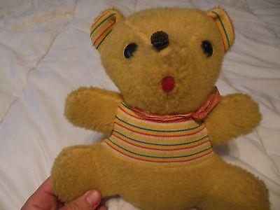 Vintage Teddy Bear_Winnie the Pooh?_10x8_Stuffed Animal_Plush