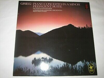 Grieg - Peter Katin The London Philharmonic Orchestra  Piano Concerto In A Minor