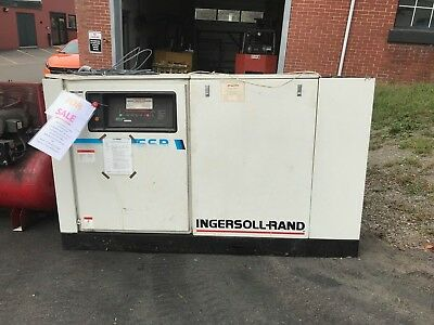 Ingersoll Rand Ssr-ep50 Electric Rotary Screw Air Compressor 460v 241cfm 3ph