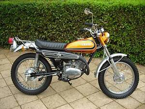 Yamaha CT2 1972 -Concourse condition Stirling Adelaide Hills Preview
