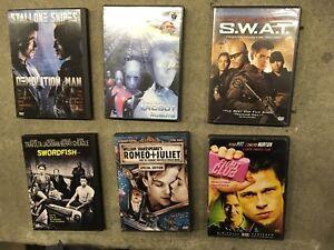 DVDs : Fight Club, i Robot, Demolition Man++