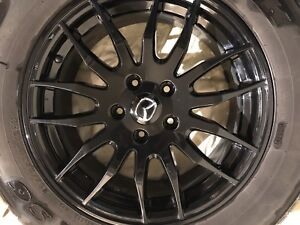 Mazda CX5 225 65 17 black fast wheels OEM mags wheels rims 17
