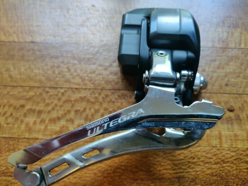 Nice Shimano Ultegra FD-6770 Di2 Electronic Front Derailleur Braze-on 167g used