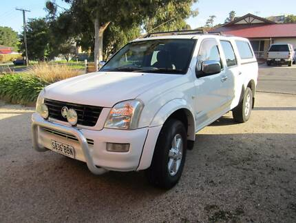 HOLDEN RODEO 2003 RA----DUAL FUEL