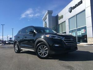 2018 Hyundai Tucson AWD - LOW KMS, HEATED SEATS, LEATHER, BACKUP