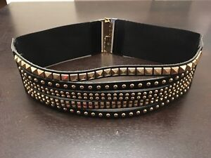 Brand new designer gold studded belt