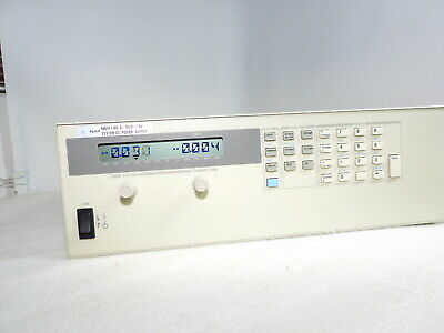 Agilent 6654a Programmable Dc Power Supply 0-70v 7.5a