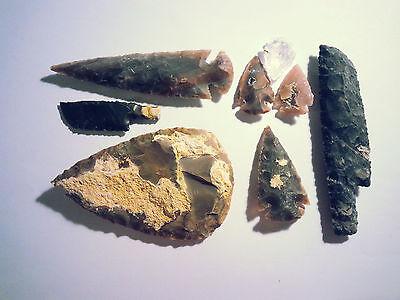 Steinzeit Set Experimentelle Archäologie (Nachbau) flint knapping B-WARE