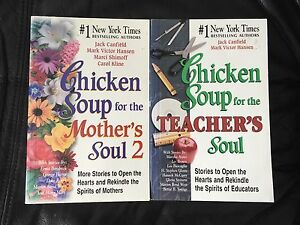 2 Chicken Soup for the Soul Books - $10
