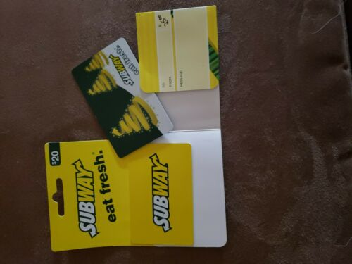 Subway Gift Card, 45 Unused  - $38.00