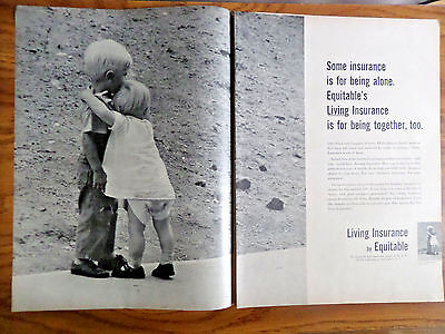 1957 Equitable Life Insurance Ad Being Along Ours Is For Being Together Too