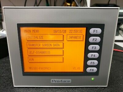 Pro-face St400-ag41-24v Hmi Touch Screen Control Panel For Plc - Tested