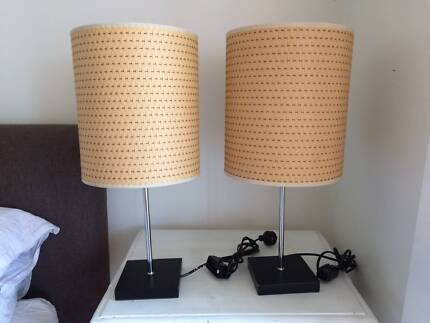 Bedside lamps light in melbourne region vic gumtree australia bedside table lamps aloadofball Images