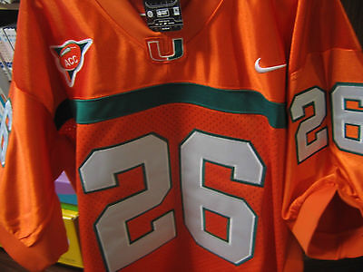 Miami Hurricanes  26 Sean Taylor College Throwback All Sewn Jersey Men Redskin
