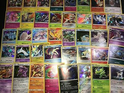 POKEMON! 1 RANDOM HOLO LEGENDARY CARD! POSSIBLE MEW LUGIA MEWTWO! NO DUPLICATES!