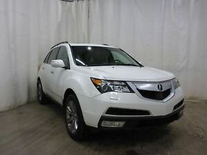 2012 Acura MDX Elite Package SH-AWD DVD Leather Bluetooth