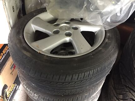 "16"" mazda 3 6 wheels 5 114.3 rims jap Toyota Hyundai Kia  Crestmead Logan Area Preview"