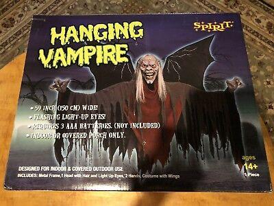 Halloween Hanging Vampire by Spirit Stores NIB