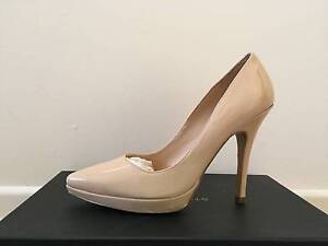Brand new size 7.5US Style Tread Nude Patent Leather heels Brisbane City Brisbane North West Preview