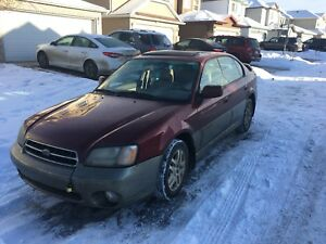 2004 Subaru Legacy (needs work)