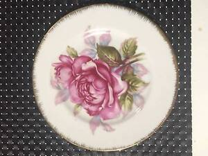 Vintage tea plate, Saji fine china, Japan, Numbered 897 Thornleigh Hornsby Area Preview