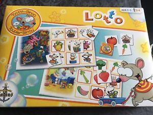 Toopy and Binoo Bingo game