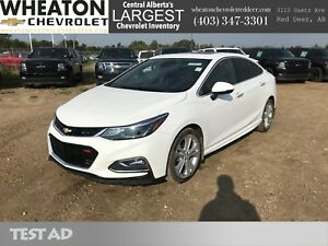 2016 Chevrolet Cruze Premier - Backup Camera, Leather, Heated Se