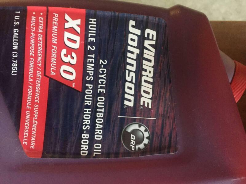 EVINRUDE-JOHNSON OUTBOARD OIL for 2-STROKE | Miscellaneous Goods