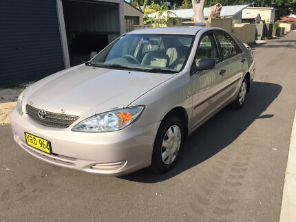 2003 Toyota Camry Altise 4 cylinder