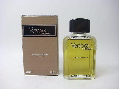 VINTAGE Versace L`Homme 1.6oz EDT Splash NEW ORIGINAL FORMULA RARE REF# 14050