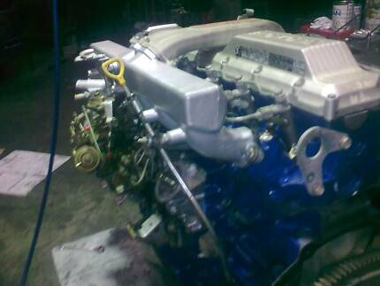 Toyota-landcruiser 4.2LT  1HDT Diesel Engine Full Reco