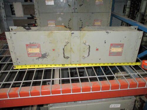 Frank Adams Klampswfuz Ksf 200a 3p 240v Twin Bolt-on Panelboard Switch